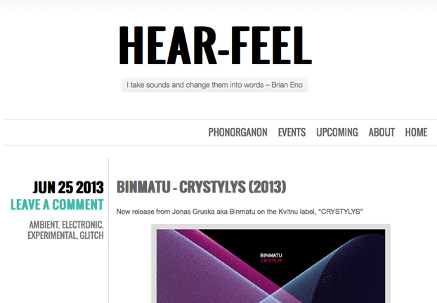 hear-feel for binmatu