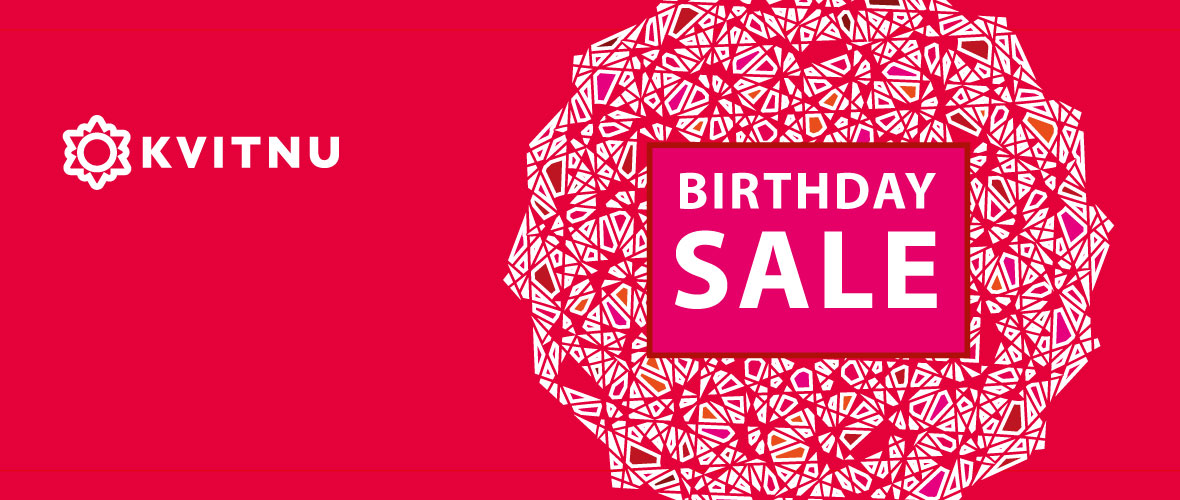 Kvitnu birthday sale