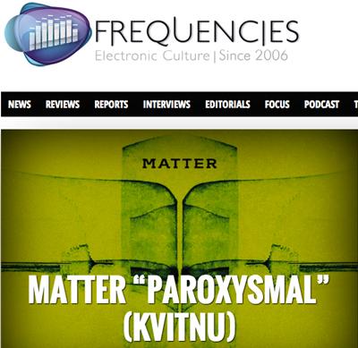 Matter - Paroxysmal