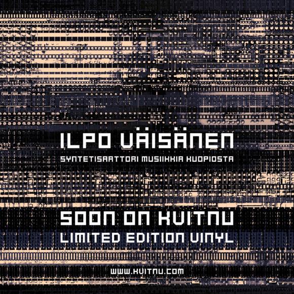 A new work by Ilpo Väisänen comes out soon on Kvitnu.