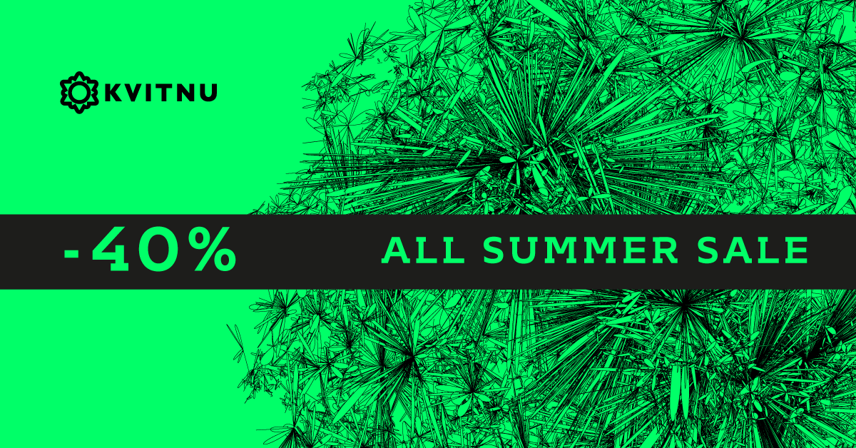 kvitnu summer sale 2016